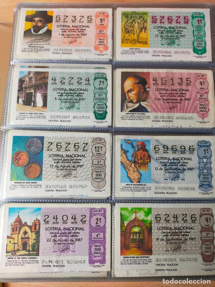 Lotería Nacional: Colección décimos de lotería España años 1967-1990 CAPICUAS Y NUMEROS BAJOS EXCELENTE! - Foto 141 - 265158944