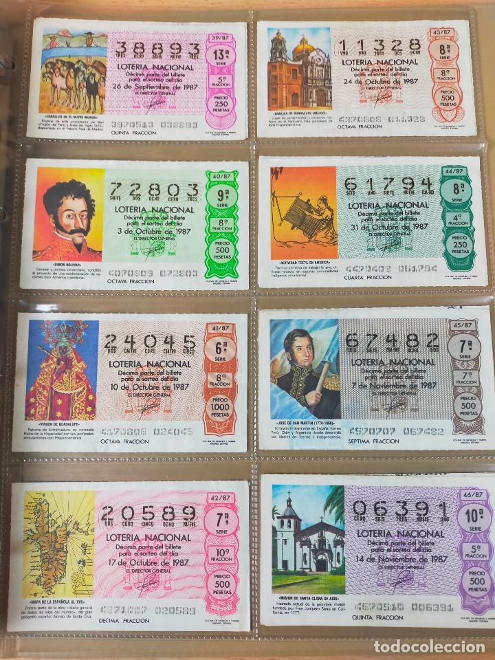 Lotería Nacional: Colección décimos de lotería España años 1967-1990 CAPICUAS Y NUMEROS BAJOS EXCELENTE! - Foto 142 - 265158944