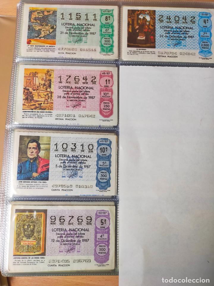 Lotería Nacional: Colección décimos de lotería España años 1967-1990 CAPICUAS Y NUMEROS BAJOS EXCELENTE! - Foto 143 - 265158944