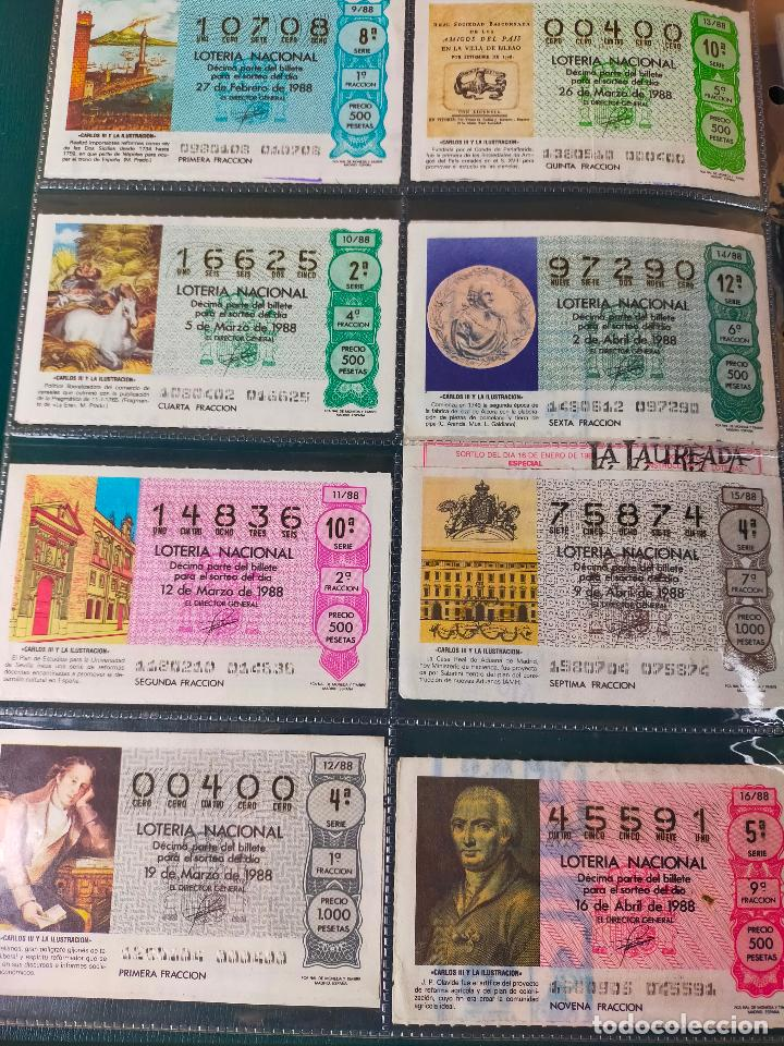 Lotería Nacional: Colección décimos de lotería España años 1967-1990 CAPICUAS Y NUMEROS BAJOS EXCELENTE! - Foto 146 - 265158944