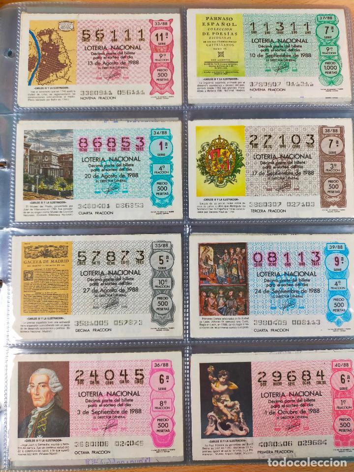 Lotería Nacional: Colección décimos de lotería España años 1967-1990 CAPICUAS Y NUMEROS BAJOS EXCELENTE! - Foto 149 - 265158944