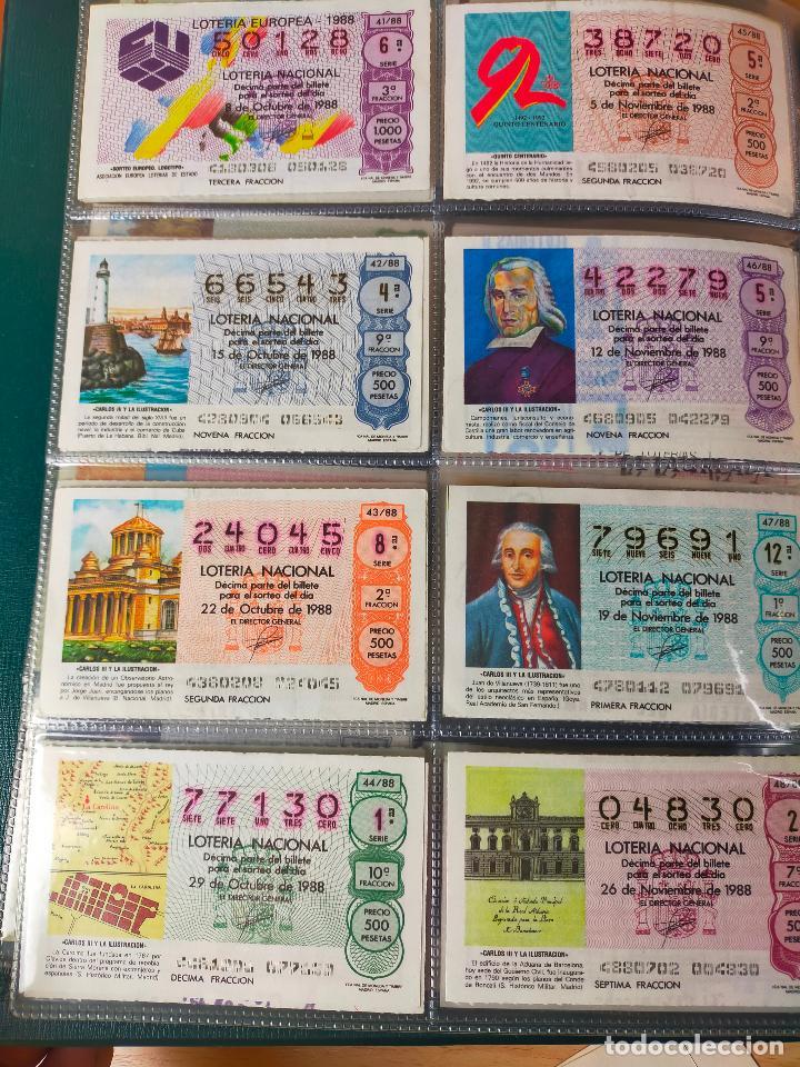 Lotería Nacional: Colección décimos de lotería España años 1967-1990 CAPICUAS Y NUMEROS BAJOS EXCELENTE! - Foto 150 - 265158944