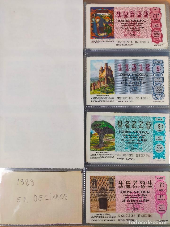 Lotería Nacional: Colección décimos de lotería España años 1967-1990 CAPICUAS Y NUMEROS BAJOS EXCELENTE! - Foto 152 - 265158944