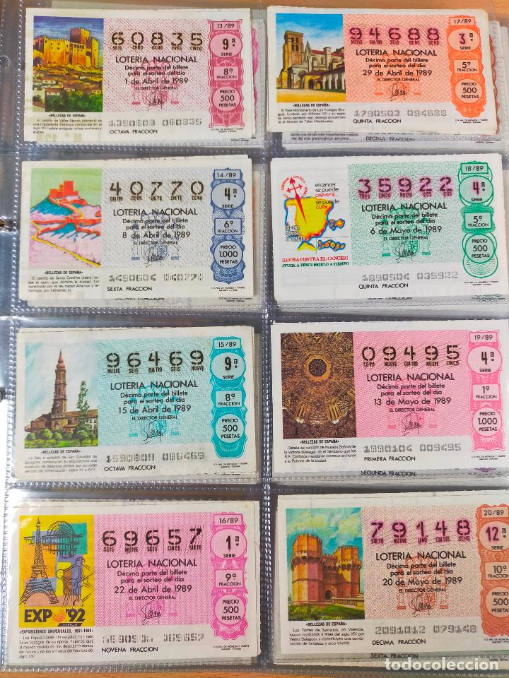 Lotería Nacional: Colección décimos de lotería España años 1967-1990 CAPICUAS Y NUMEROS BAJOS EXCELENTE! - Foto 153 - 265158944