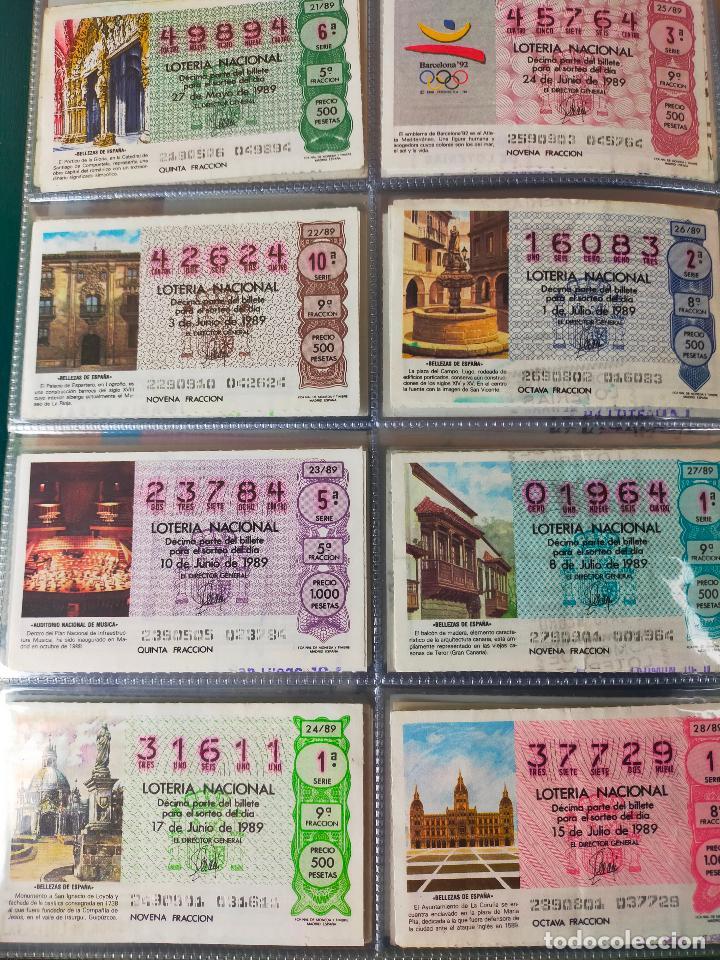 Lotería Nacional: Colección décimos de lotería España años 1967-1990 CAPICUAS Y NUMEROS BAJOS EXCELENTE! - Foto 154 - 265158944