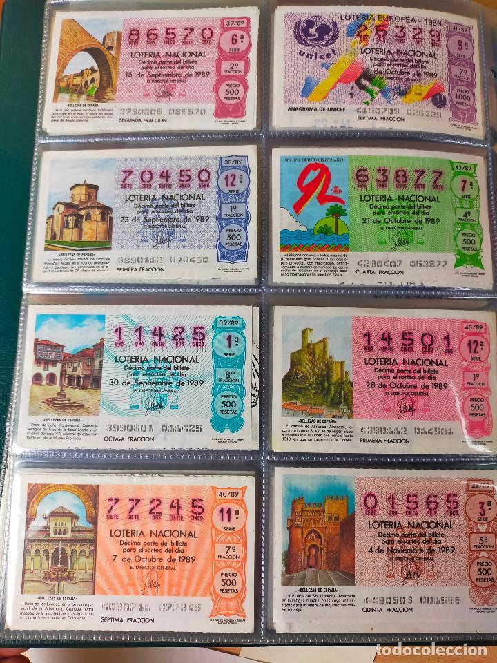 Lotería Nacional: Colección décimos de lotería España años 1967-1990 CAPICUAS Y NUMEROS BAJOS EXCELENTE! - Foto 155 - 265158944