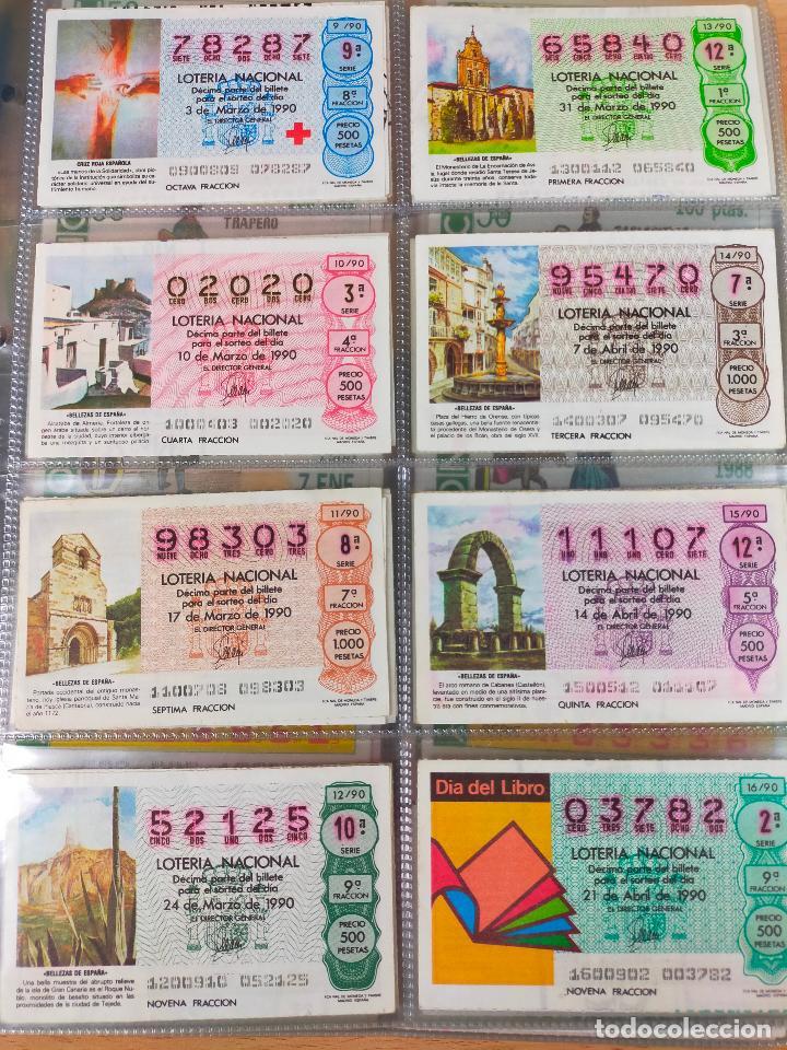 Lotería Nacional: Colección décimos de lotería España años 1967-1990 CAPICUAS Y NUMEROS BAJOS EXCELENTE! - Foto 158 - 265158944