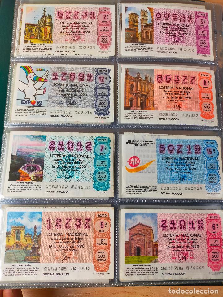 Lotería Nacional: Colección décimos de lotería España años 1967-1990 CAPICUAS Y NUMEROS BAJOS EXCELENTE! - Foto 159 - 265158944