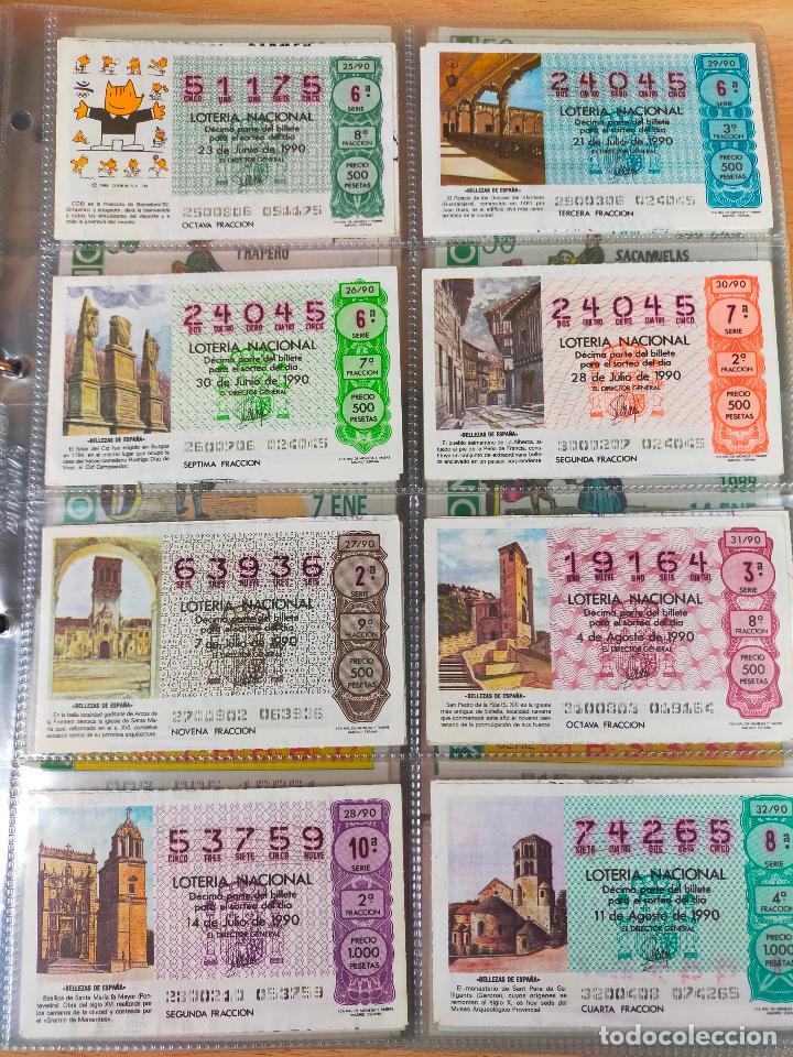 Lotería Nacional: Colección décimos de lotería España años 1967-1990 CAPICUAS Y NUMEROS BAJOS EXCELENTE! - Foto 160 - 265158944