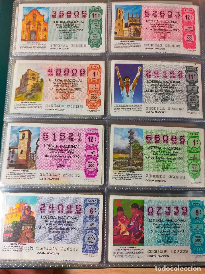 Lotería Nacional: Colección décimos de lotería España años 1967-1990 CAPICUAS Y NUMEROS BAJOS EXCELENTE! - Foto 161 - 265158944