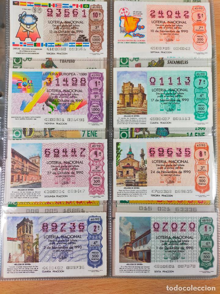 Lotería Nacional: Colección décimos de lotería España años 1967-1990 CAPICUAS Y NUMEROS BAJOS EXCELENTE! - Foto 162 - 265158944
