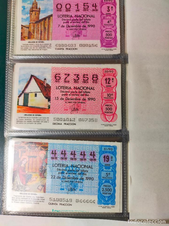 Lotería Nacional: Colección décimos de lotería España años 1967-1990 CAPICUAS Y NUMEROS BAJOS EXCELENTE! - Foto 163 - 265158944