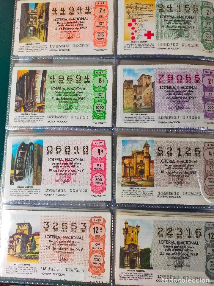 Lotería Nacional: Colección décimos de lotería España años 1967-1990 CAPICUAS Y NUMEROS BAJOS EXCELENTE! - Foto 164 - 265158944