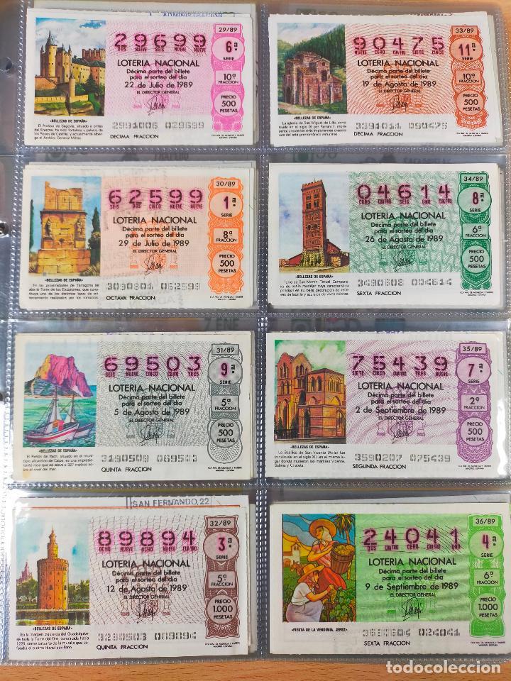 Lotería Nacional: Colección décimos de lotería España años 1967-1990 CAPICUAS Y NUMEROS BAJOS EXCELENTE! - Foto 165 - 265158944