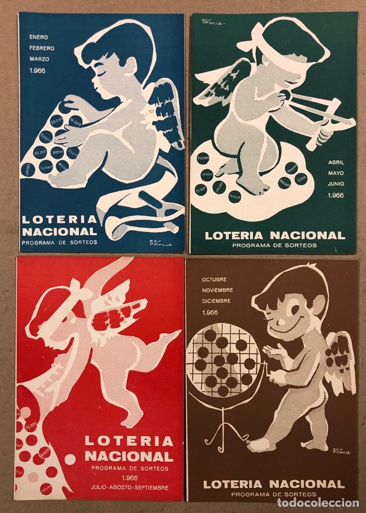 Lotería Nacional: LOTE DE 82 PROGRAMAS DE SORTEOS LOTERÍA NACIONAL (1965-1985). AÑOS COMPLETOS. - Foto 4 - 265773599