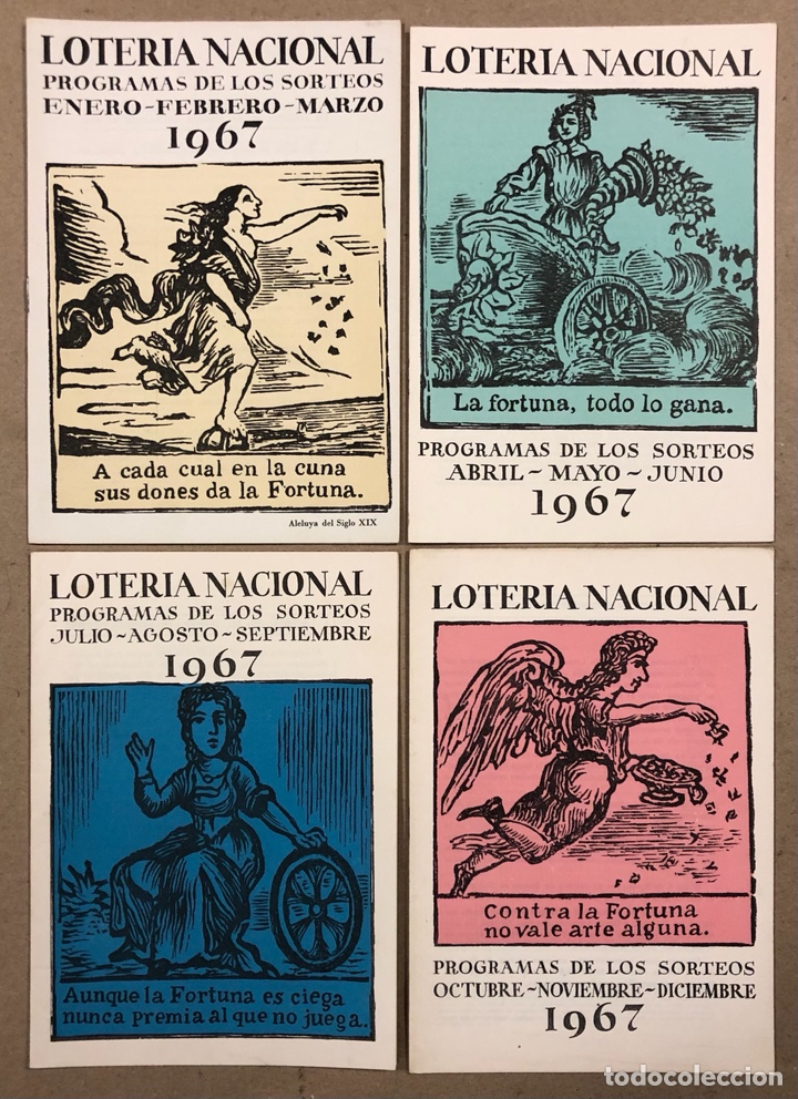 Lotería Nacional: LOTE DE 82 PROGRAMAS DE SORTEOS LOTERÍA NACIONAL (1965-1985). AÑOS COMPLETOS. - Foto 5 - 265773599