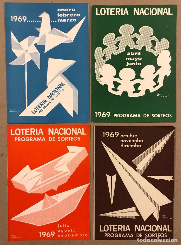 Lotería Nacional: LOTE DE 82 PROGRAMAS DE SORTEOS LOTERÍA NACIONAL (1965-1985). AÑOS COMPLETOS. - Foto 7 - 265773599