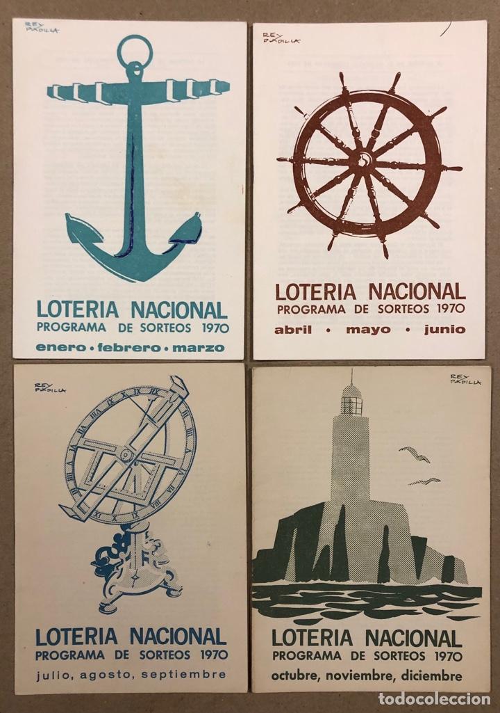 Lotería Nacional: LOTE DE 82 PROGRAMAS DE SORTEOS LOTERÍA NACIONAL (1965-1985). AÑOS COMPLETOS. - Foto 8 - 265773599