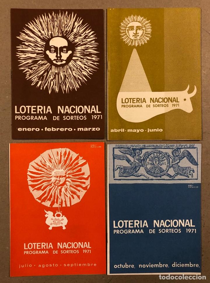 Lotería Nacional: LOTE DE 82 PROGRAMAS DE SORTEOS LOTERÍA NACIONAL (1965-1985). AÑOS COMPLETOS. - Foto 9 - 265773599