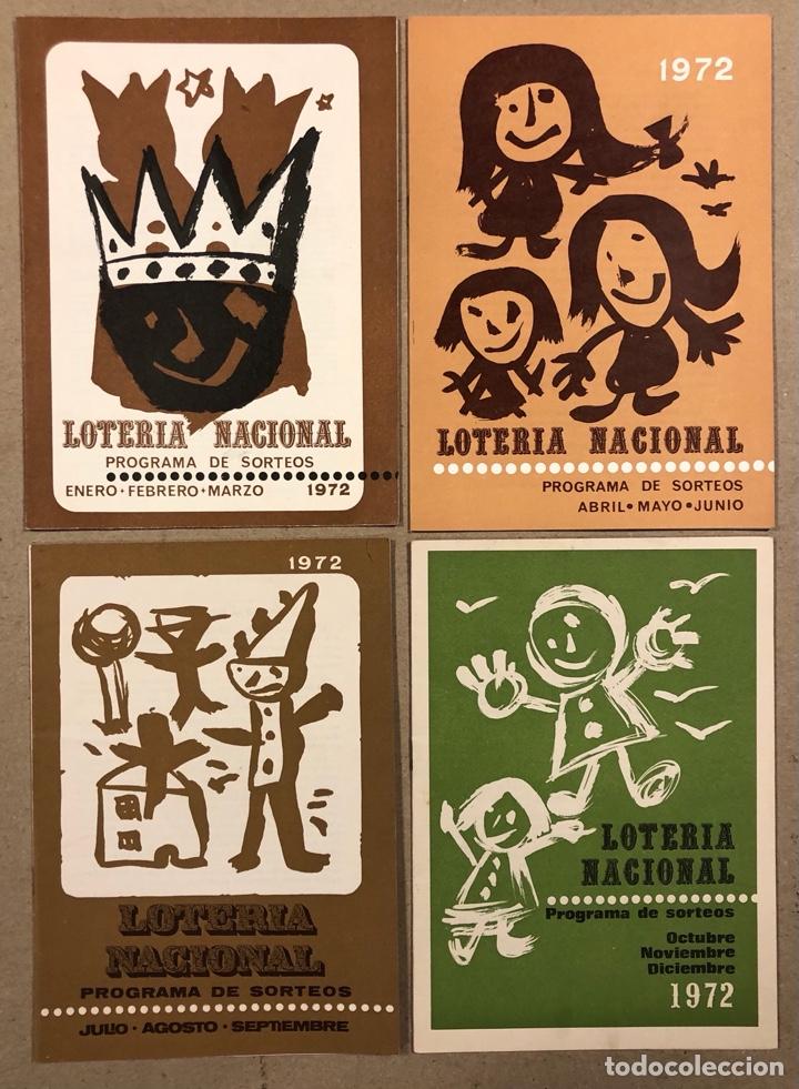 Lotería Nacional: LOTE DE 82 PROGRAMAS DE SORTEOS LOTERÍA NACIONAL (1965-1985). AÑOS COMPLETOS. - Foto 10 - 265773599