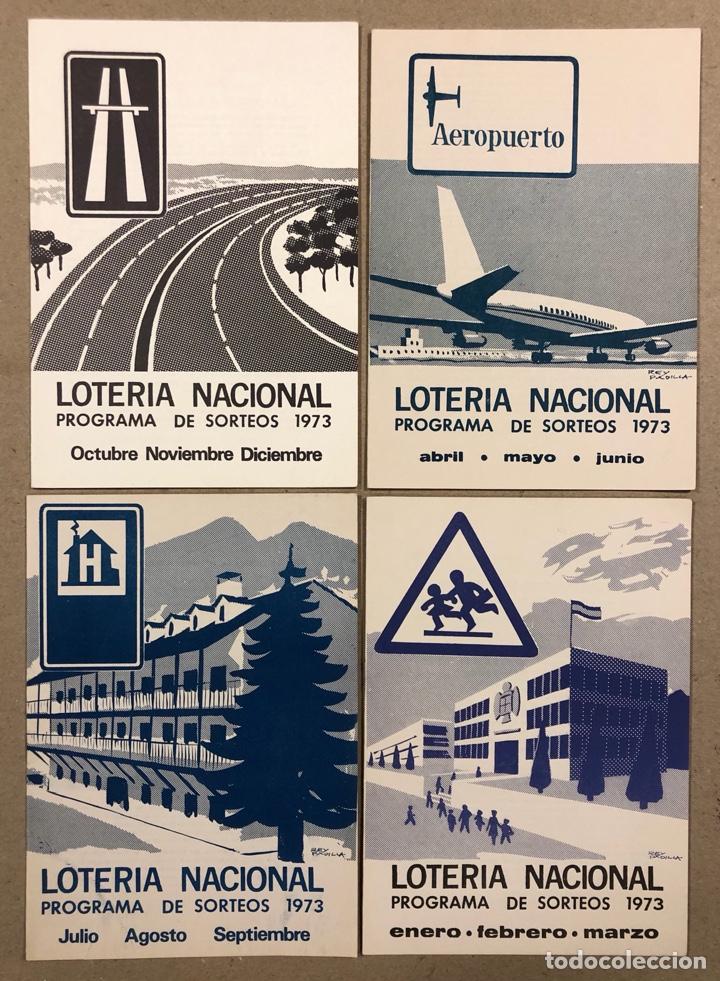 Lotería Nacional: LOTE DE 82 PROGRAMAS DE SORTEOS LOTERÍA NACIONAL (1965-1985). AÑOS COMPLETOS. - Foto 11 - 265773599