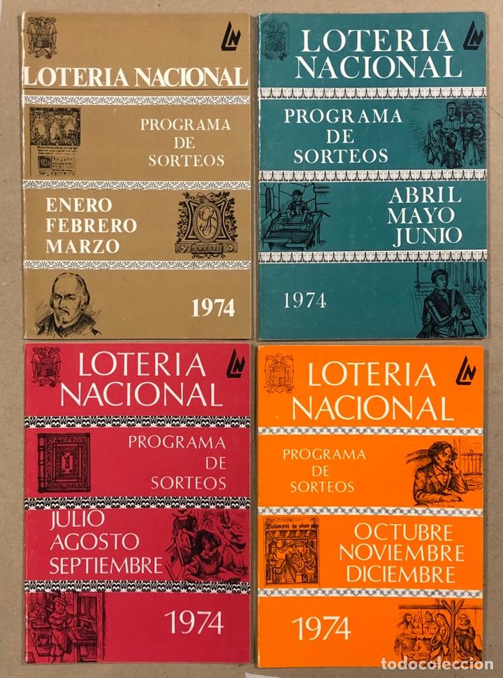 Lotería Nacional: LOTE DE 82 PROGRAMAS DE SORTEOS LOTERÍA NACIONAL (1965-1985). AÑOS COMPLETOS. - Foto 12 - 265773599