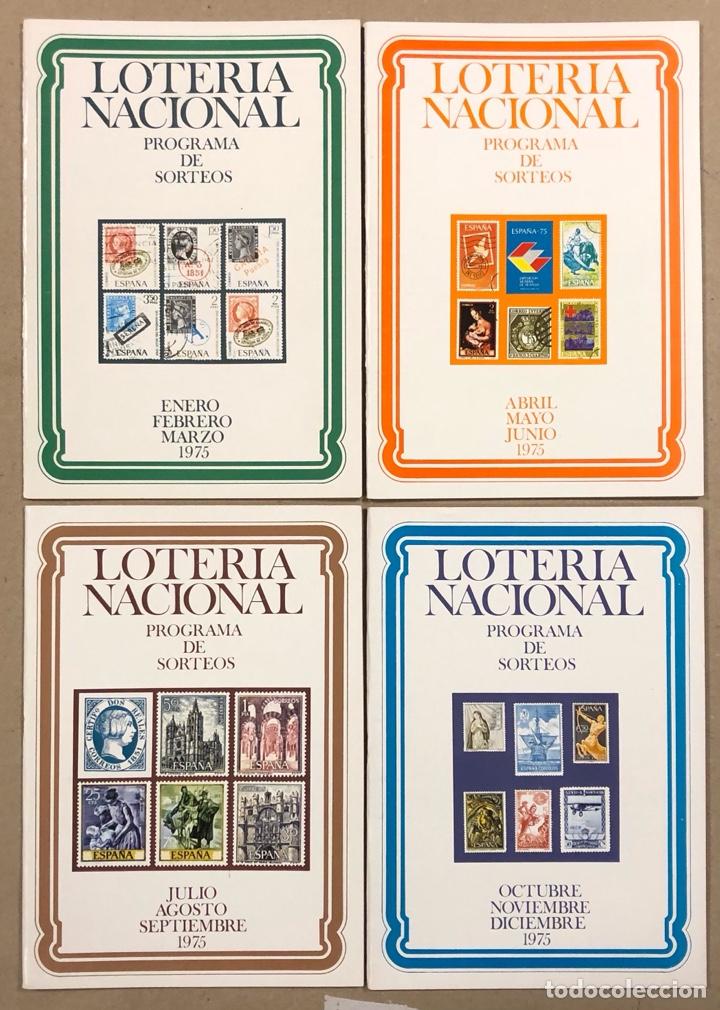 Lotería Nacional: LOTE DE 82 PROGRAMAS DE SORTEOS LOTERÍA NACIONAL (1965-1985). AÑOS COMPLETOS. - Foto 13 - 265773599