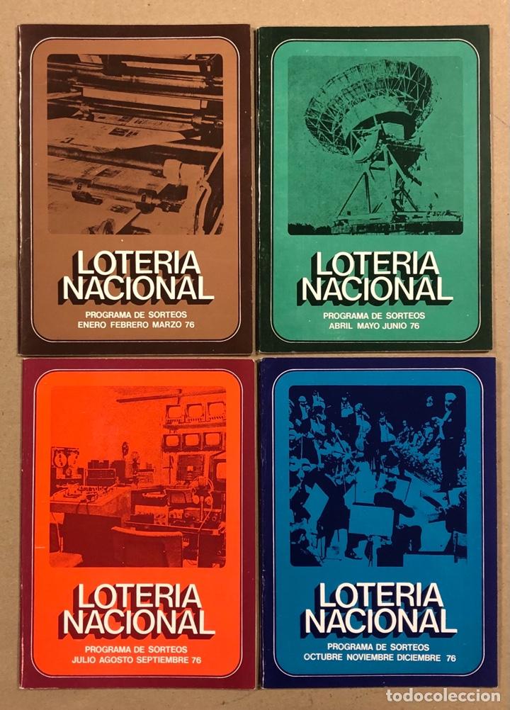 Lotería Nacional: LOTE DE 82 PROGRAMAS DE SORTEOS LOTERÍA NACIONAL (1965-1985). AÑOS COMPLETOS. - Foto 14 - 265773599