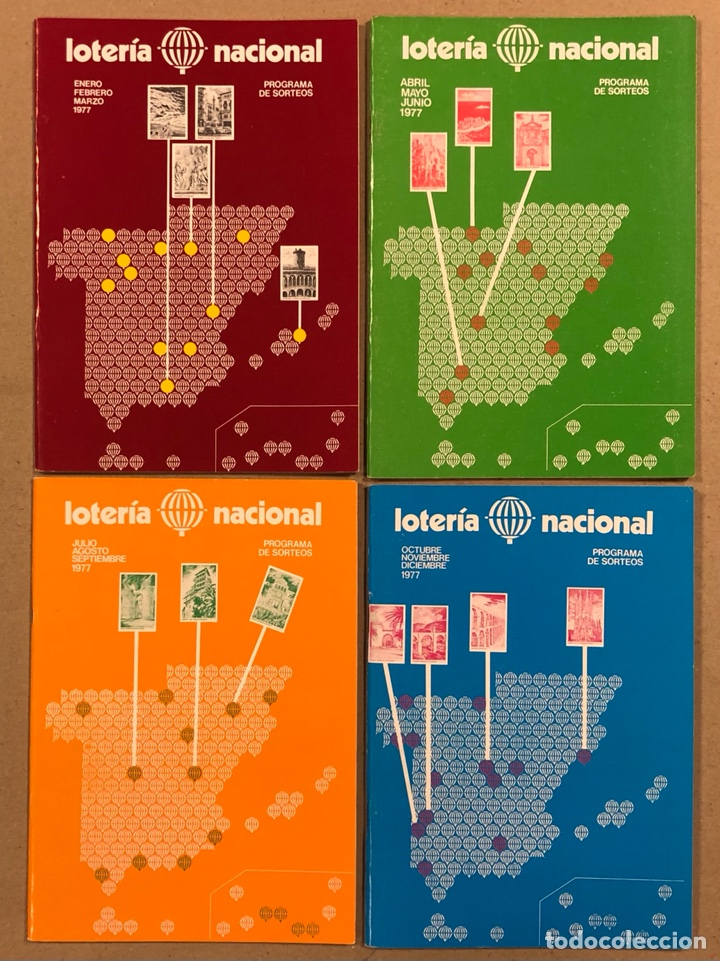 Lotería Nacional: LOTE DE 82 PROGRAMAS DE SORTEOS LOTERÍA NACIONAL (1965-1985). AÑOS COMPLETOS. - Foto 15 - 265773599