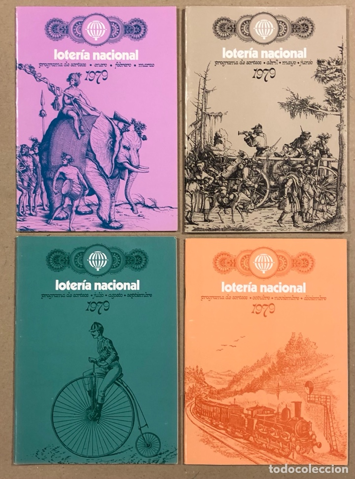 Lotería Nacional: LOTE DE 82 PROGRAMAS DE SORTEOS LOTERÍA NACIONAL (1965-1985). AÑOS COMPLETOS. - Foto 17 - 265773599