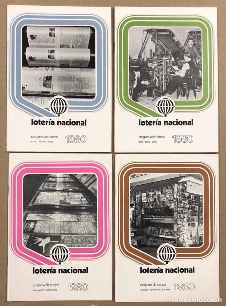 Lotería Nacional: LOTE DE 82 PROGRAMAS DE SORTEOS LOTERÍA NACIONAL (1965-1985). AÑOS COMPLETOS. - Foto 18 - 265773599
