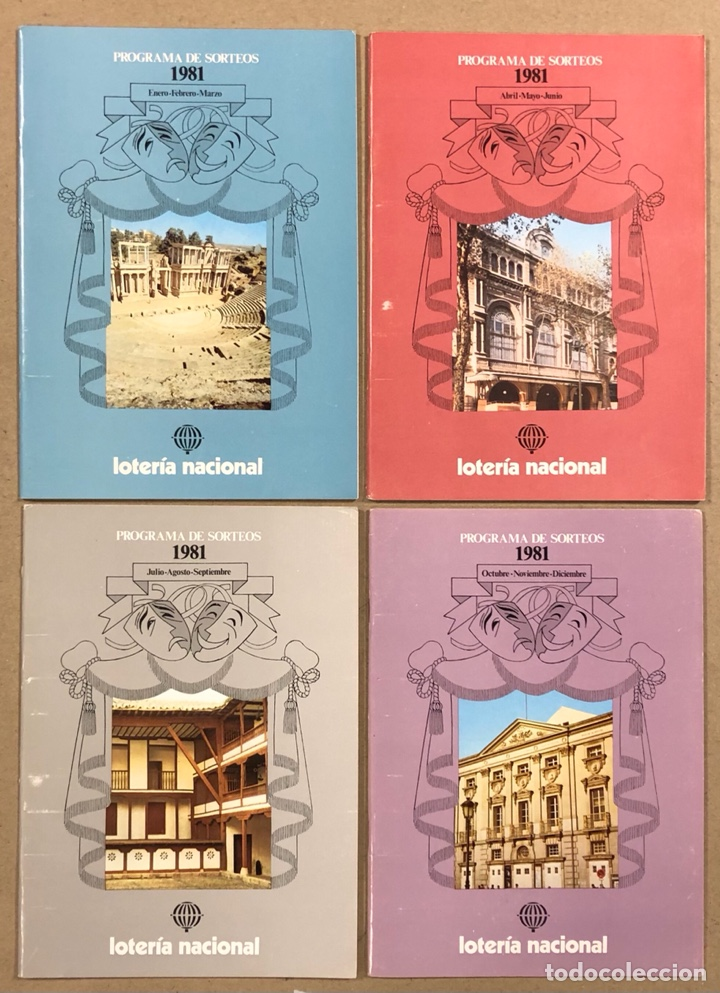 Lotería Nacional: LOTE DE 82 PROGRAMAS DE SORTEOS LOTERÍA NACIONAL (1965-1985). AÑOS COMPLETOS. - Foto 19 - 265773599