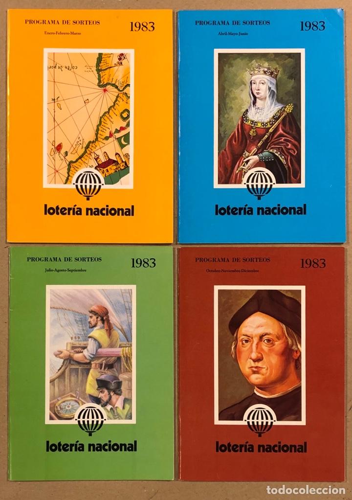 Lotería Nacional: LOTE DE 82 PROGRAMAS DE SORTEOS LOTERÍA NACIONAL (1965-1985). AÑOS COMPLETOS. - Foto 21 - 265773599