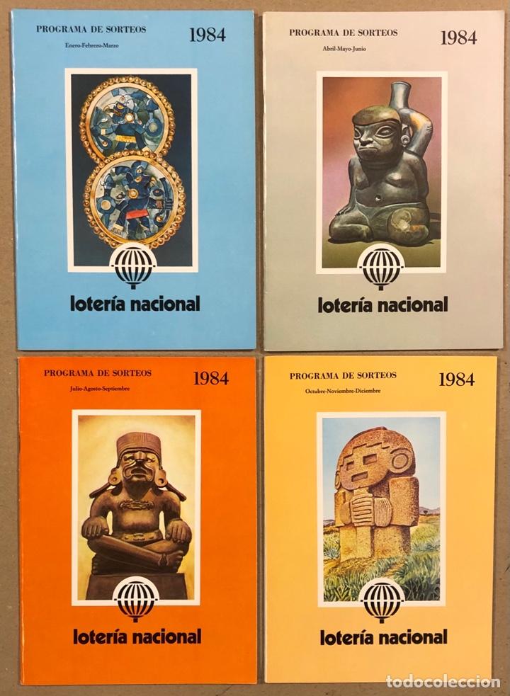 Lotería Nacional: LOTE DE 82 PROGRAMAS DE SORTEOS LOTERÍA NACIONAL (1965-1985). AÑOS COMPLETOS. - Foto 22 - 265773599