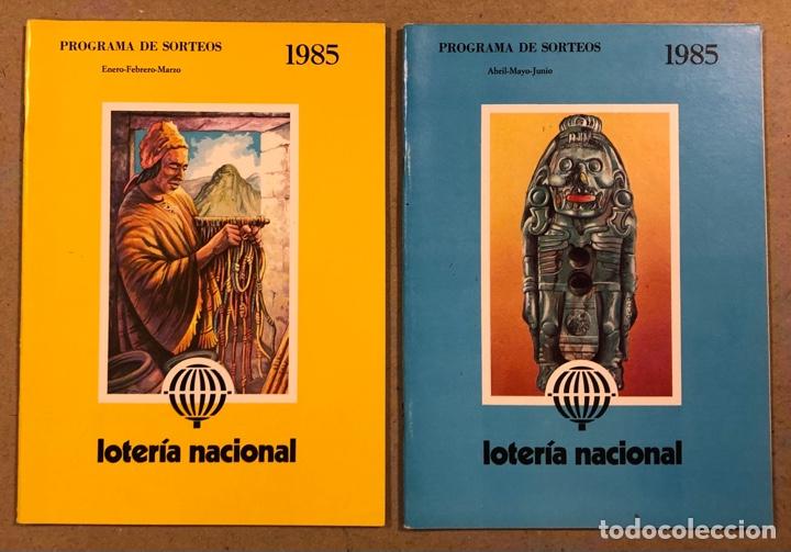 Lotería Nacional: LOTE DE 82 PROGRAMAS DE SORTEOS LOTERÍA NACIONAL (1965-1985). AÑOS COMPLETOS. - Foto 23 - 265773599