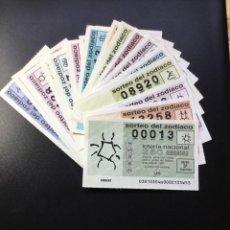 Lotería Nacional: LOTERÍA DEL ZODIACO 1991 COMPLETO (TODOS LOS SORTEOS EMITIDOS). Lote 269148878