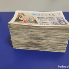 Lotería Nacional: LOTERIA AÑO 1972 POR SERIES Y COLORES 410 DECIMOS SOLO FALTA 1 DECIMO PARA COMPLETARLO. Lote 269155593
