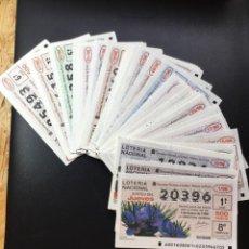 Lotería Nacional: LOTERIA NACIONAL 1996 SORTEO JUEVES COMPLETO - TODOS LOS SORTEOS. Lote 269164913