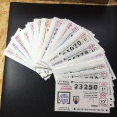 Lotería Nacional: LOTERIA NACIONAL 1998 SORTEO JUEVES COMPLETO - TODOS LOS SORTEOS. Lote 269233753