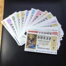 Lotería Nacional: LOTERIA NACIONAL 2020 SORTEO SÁBADOS COMPLETO - TODOS LOS SORTEOS. Lote 269234453