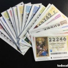 Lotería Nacional: LOTERIA NACIONAL 2020 SORTEO SÁBADOS COMPLETO - TODOS LOS SORTEOS. Lote 269237613