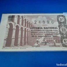 Lotería Nacional: LOTERIA 1962 SORTEO 26. Lote 271537863