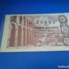 Lotería Nacional: LOTERIA 1962 SORTEO 26. Lote 271538123