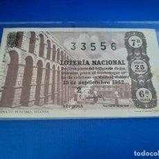 Lotería Nacional: LOTERIA 1962 SORTEO 26. Lote 271538378