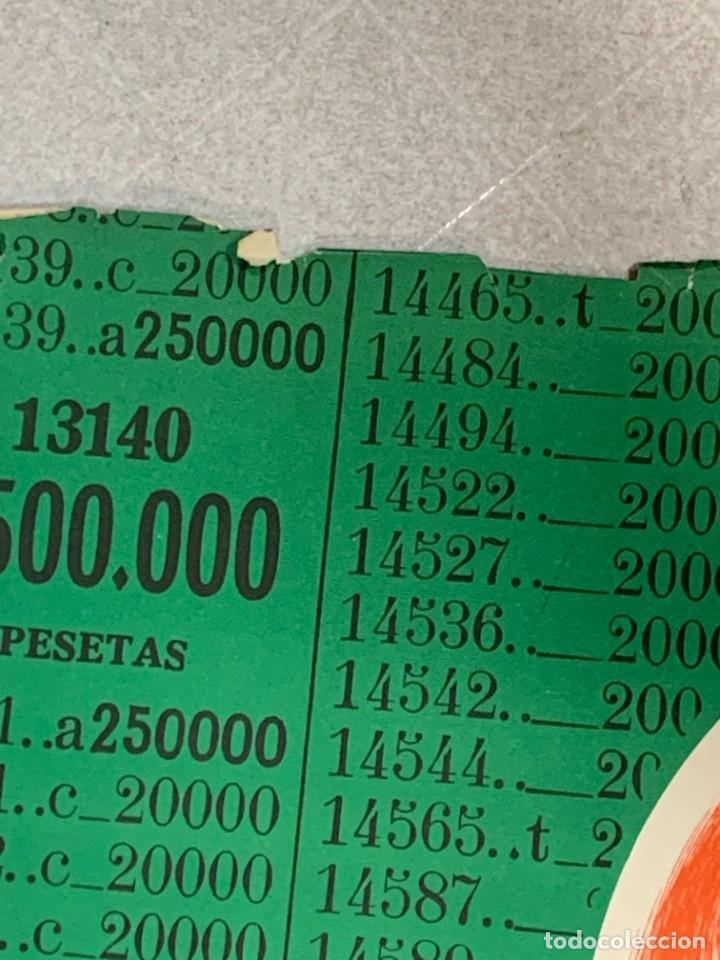 Lotería Nacional: CARTEL LOTERIA NACIONAL BILLAR TRES BOLAS 100X69CMS - Foto 4 - 274353483