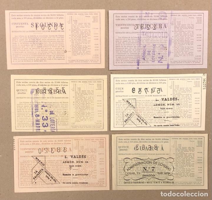 Lotería Nacional: LOTERÍA AÑO 1959 36 DÉCIMOS, TODOS LOS SORTEOS (AÑO COMPLETO). - Foto 11 - 275103323