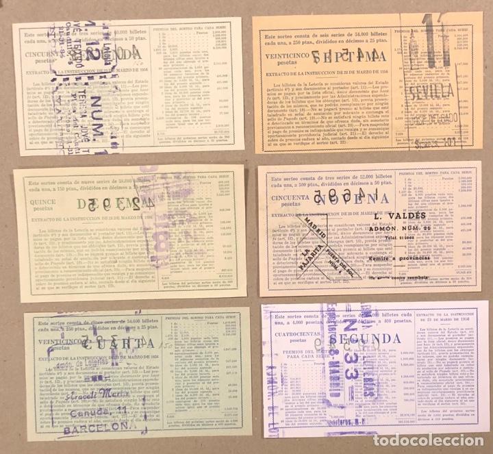 Lotería Nacional: LOTERÍA AÑO 1959 36 DÉCIMOS, TODOS LOS SORTEOS (AÑO COMPLETO). - Foto 13 - 275103323