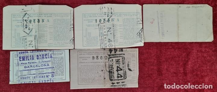 Lotería Nacional: COLECCION DE 19 BILLETES DE LOTERIA NACIONAL. VARIAS ADMINISTRACIONES. SIGLO XX. - Foto 10 - 277571073