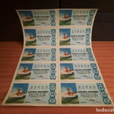 Lotería Nacional: LOTERIA 1968 SORTEO 17. Lote 280130098