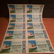 Lotería Nacional: LOTERIA 1968 SORTEO 17. Lote 280130233